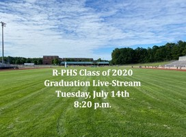 Live-Streaming Class of 2020 Graduation!
