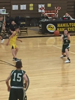 8th Grade Green vs Hamilton