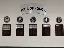 Newly Installed:  R-PHS Military Wall of Honor