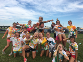 Middle School Cross Country Color Fun Run