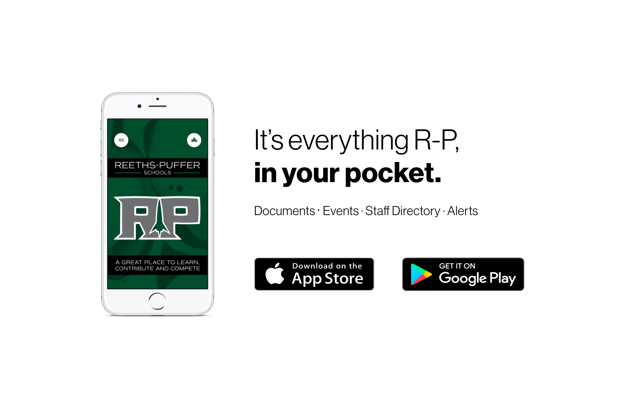 It's everything R-P, in your pocket.